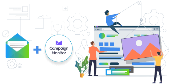 Campaign monitor email integration