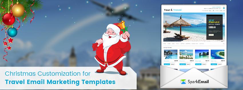 Travel Email Marketing Christmas Edition Customization