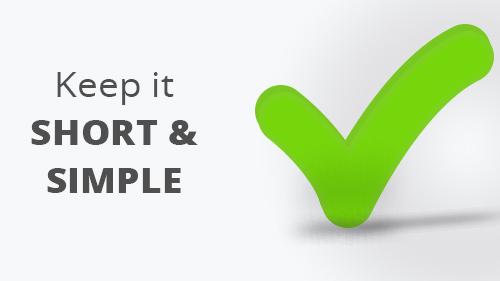 keep-it-short-simple
