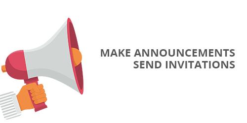 make-announcements