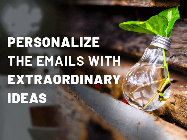 Personalize the email