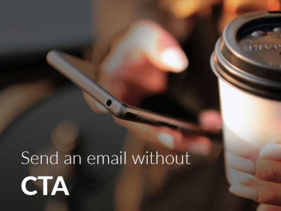 Send email without cta