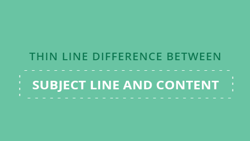 thine-line-difference